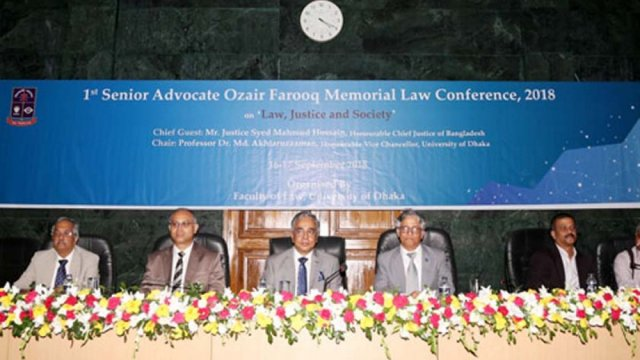 "Conference on ""Law, Justice and Society"" begins at DU"