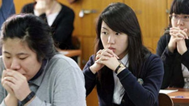 South Koreas obsession with exam success