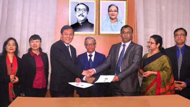 MoU between DU and Kunming University signed