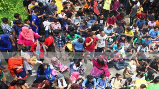 Buet students continue protests